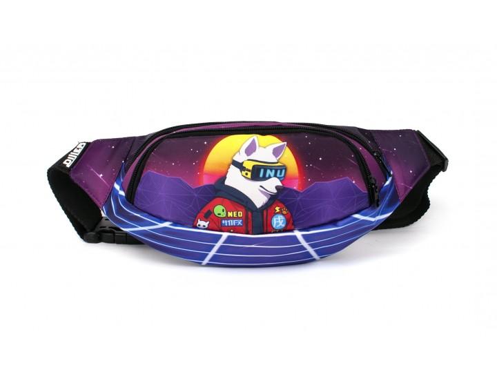 Поясная сумка Futuristic Violet