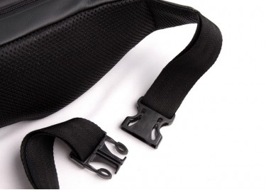 Поясная сумка Triangles Grey