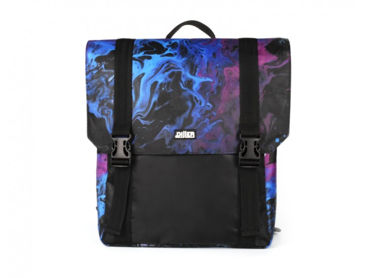Рюкзак маленький Purple Liquid