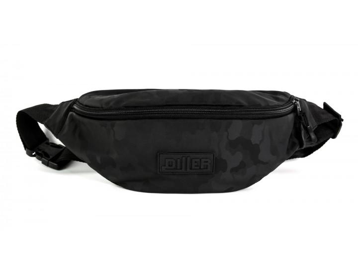 Поясная сумка большая Black Military