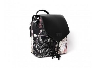 Рюкзак мини Black Flowers