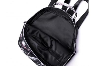 Рюкзак компактный Black Flowers