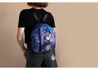 Рюкзак женский Purple Neon